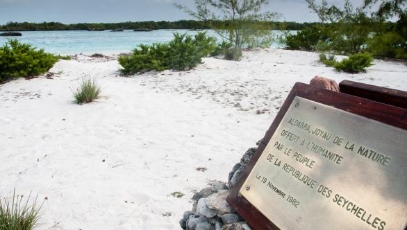 Aldabra Island, Seychelles -- a UNESCO World Heritage Site since 1982