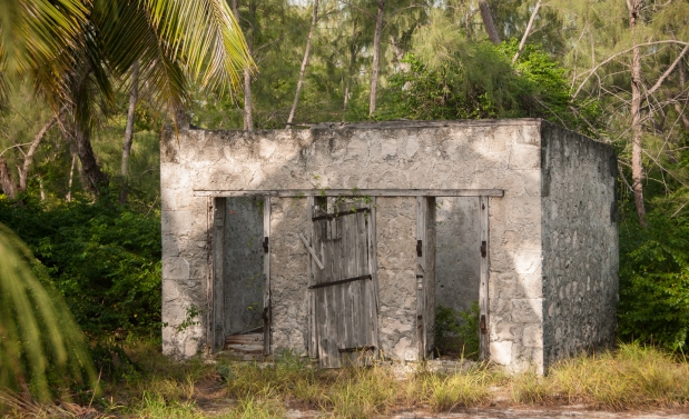 "Aldabra Island, Seychelles --   The ""old"" jail, from the 19th C French settlement"
