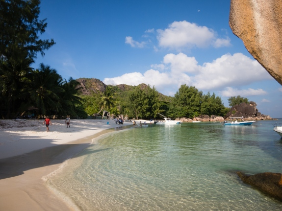 Curieuse Island, Seychelles -- beach