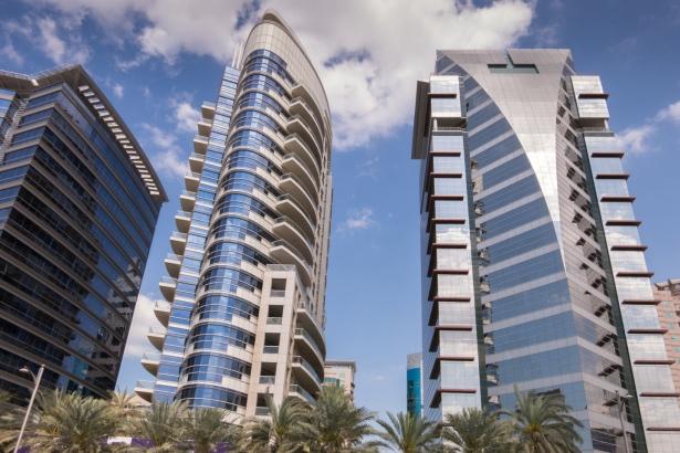 Dubai Creek apartment buildings