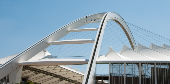 Durban Moses Mabhida Stadium central arch