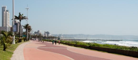 Durban South Beach promenade