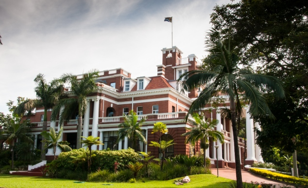 Durban -- typical old private mansion by wealthy British businessman