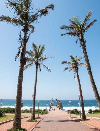 Umhlanga Beach approach -- is this southeast Florida?