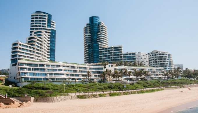 Umhlanga Beach condominiums