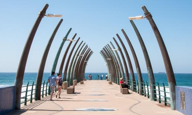 Umhlanga Beach pier