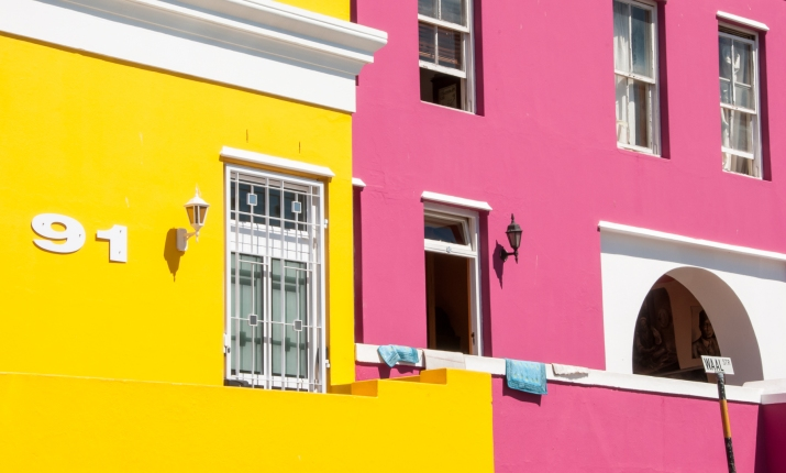 91 Waal Street, Cape Town, at the center of the Bo-Kaap neighborhood