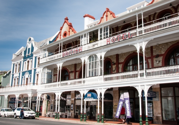 British Hotel, Simon's Town, Cape Peninsula (south of Cape Town), South Africa