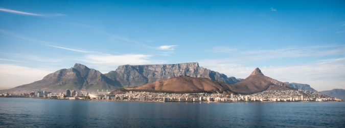 Cape Town metropolitan area (under Table Mountain)