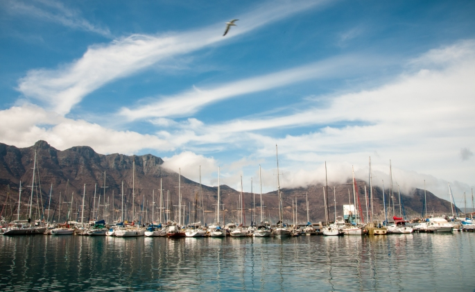 Hout Bay Harbour, Cape Peninsula (south of Cape Town), South Africa
