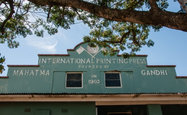 International Printing Press founded by Gandhi in 1903 in the Phoenix Settlement, Durban, South Africa