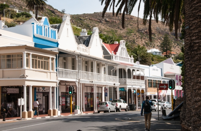 Main Street, Simon's Town, Cape Peninsula (south of Cape Town), South Africa