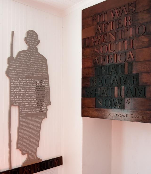 Gandhi home\museum, Phoenix Settlement, Durban, South Africa