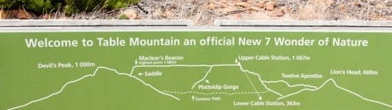 Welcome to Table Mountain -- a New 7 Wonder of Nature