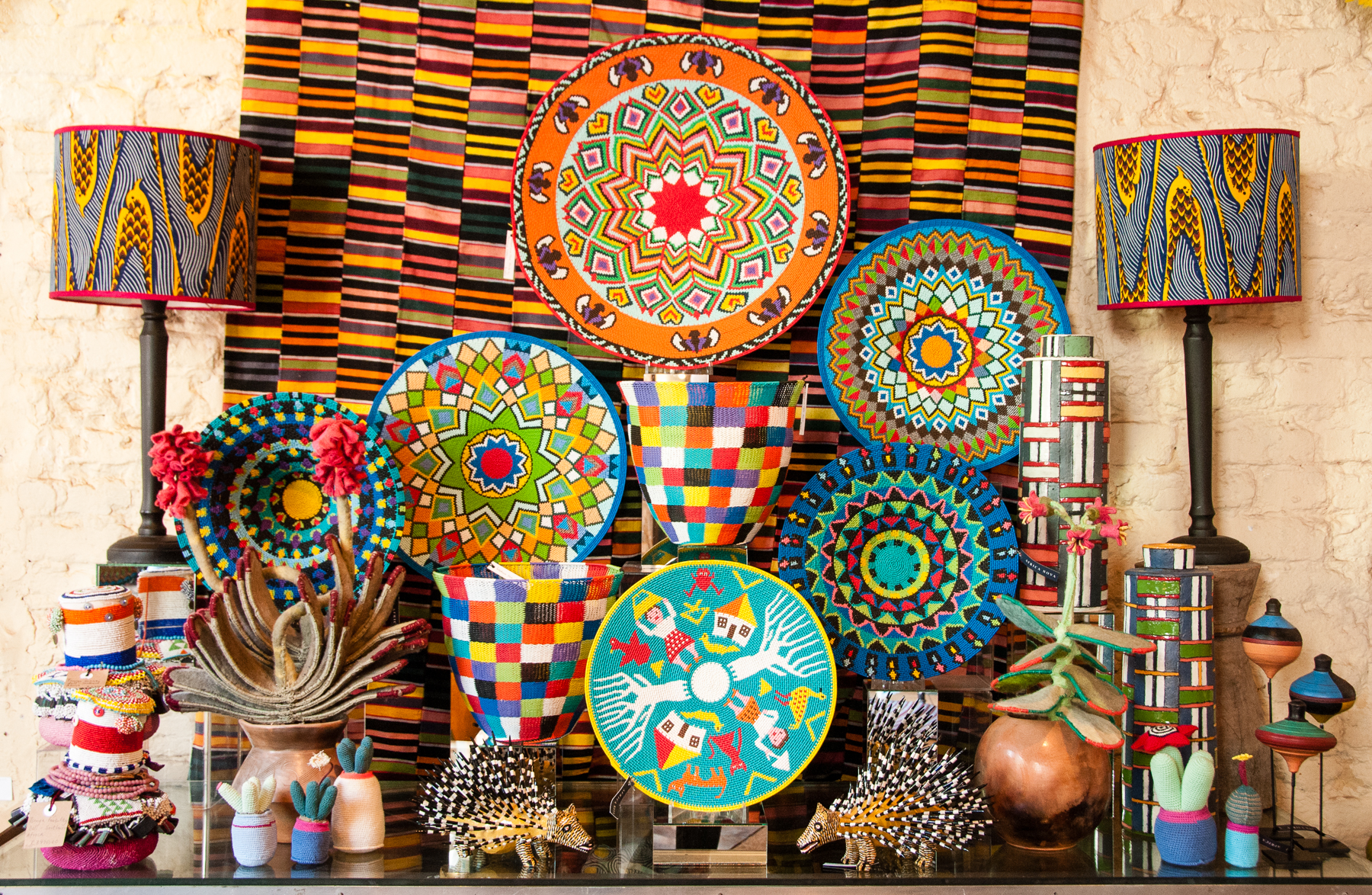 Zulu art where in the world is riccardo for African arts and crafts