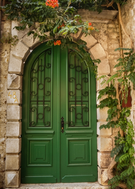 #48 A (green house entrance), Rovinj, Croatia