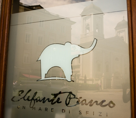 Elefante Bianco (The White Elephant Restaurant), Trieste, Italy