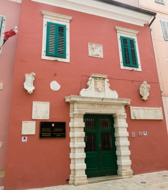 Gradska palace (Communal Palace) 1308 (reconstructed 1822), Rovinj, Croatia