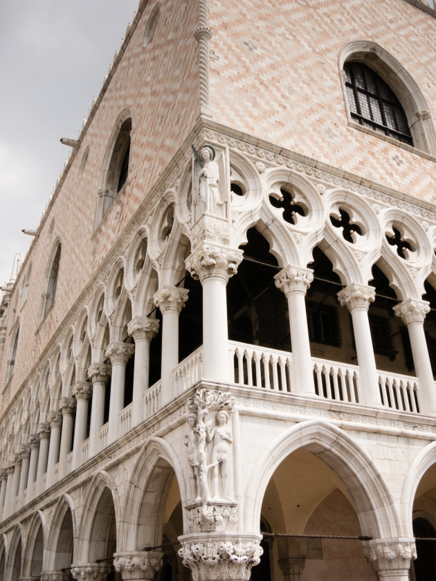 Palazzo Ducale (Doge's Palace) in Piazza di San Marco (St. Mark's Square), Venice, Italy