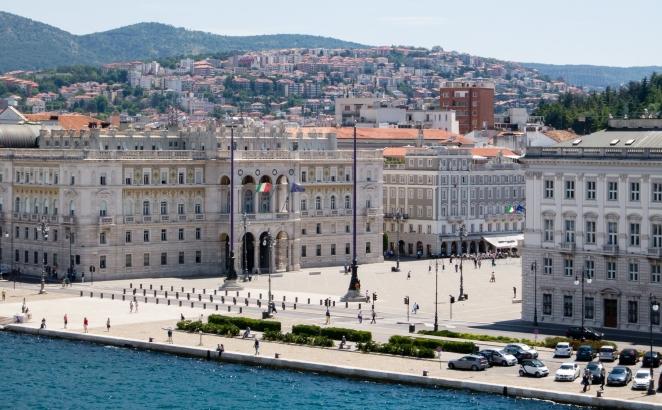 Piazza dell' Unita d' Italia, Trieste, Itlay
