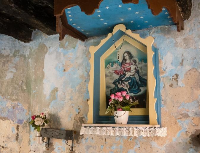 Street altar, Rovinj, Croatia