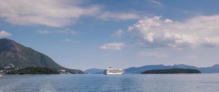 Anchored at Lefkada Island, Greece