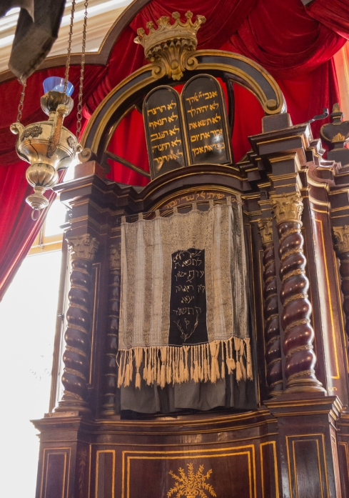 Ark for the Torahs, Synagogue, Dubovnik, Croatia