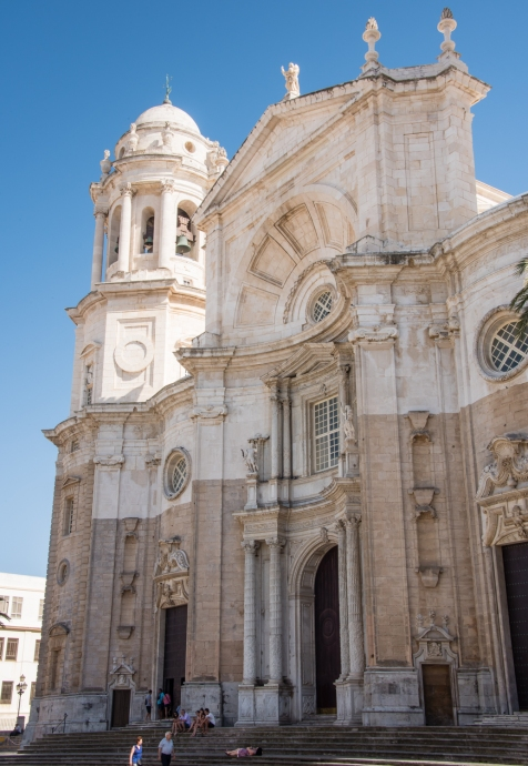 Cathedral de Cadiz in Casco Antiguo (Old Town), Cadiz, Spain