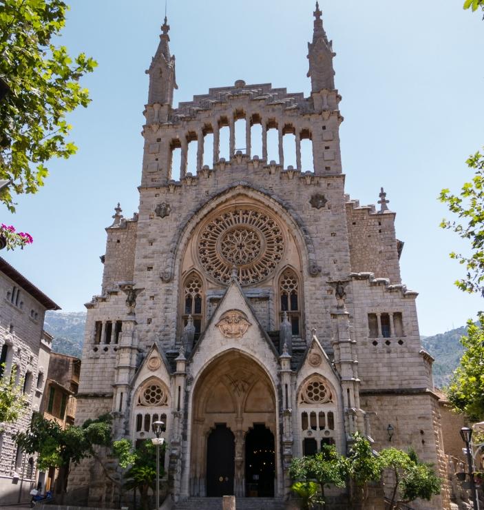 Cathedral, Sóller, Mallorca, Spain