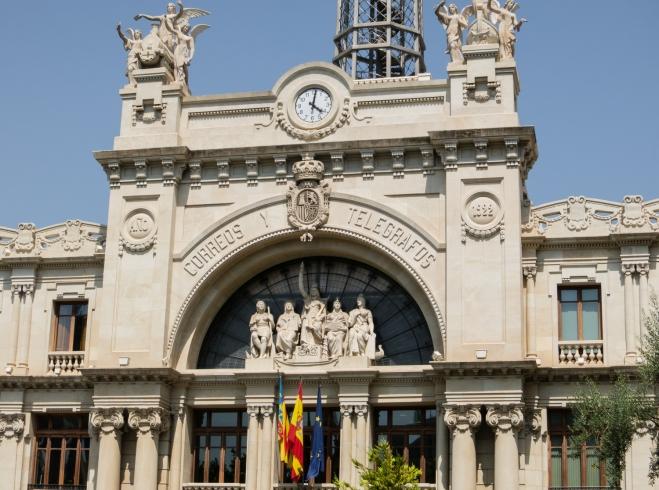 Historic Telegraph Building, Valencia, Spain
