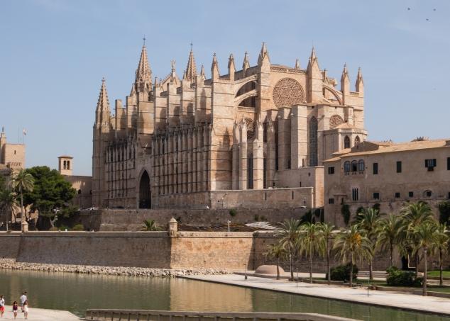 La Seu, The Cathedral Palma de Mallorca, Palma de Mallorca, Mallorca, Spain