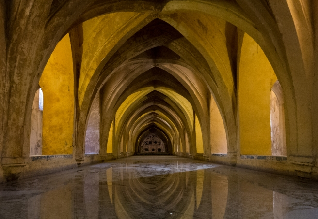 Los Baños de Doña María de Padilla, Reales Alcázares de Sevilla, Sevilla, Spain