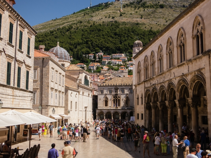 Marina Drzlca Square (near the East Gate), Dubrovnik, Croatia