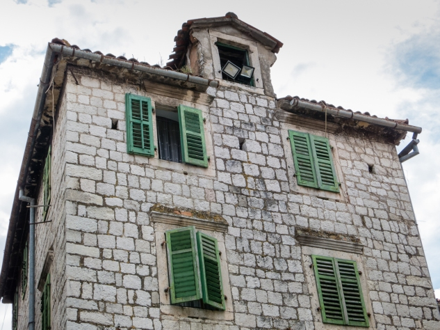Old private residence, Old Town Kotor, Montenegro