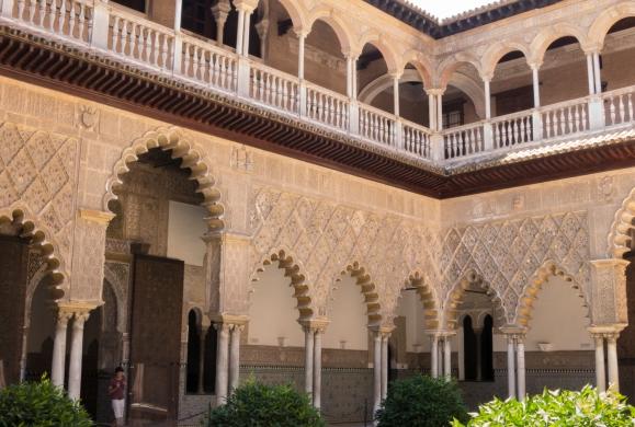Patio de las Doncellas, Reales Alcázares de Sevilla, Sevilla, Spain