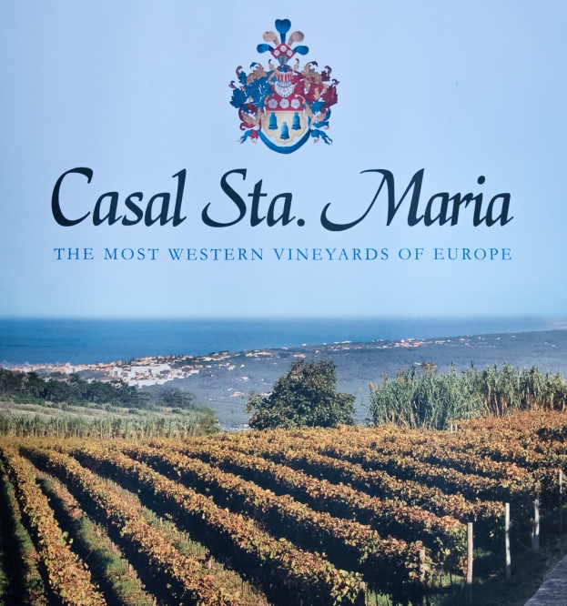 Promotional poster for Casal Sta. Maria, near Cabo da Roca, Portugal