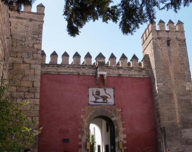 Puerta del León, Reales Alcázares de Sevilla, Sevilla, Spain