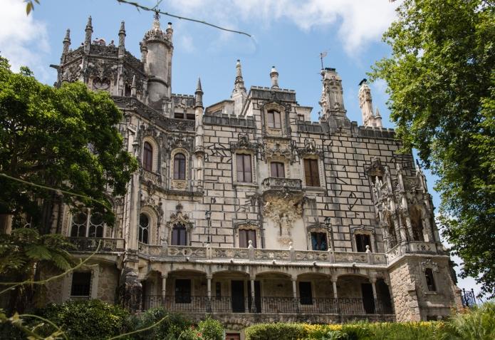 Quinta da Regaleira palace (main house), circa 1904 - 1911, Sintra, Portugal