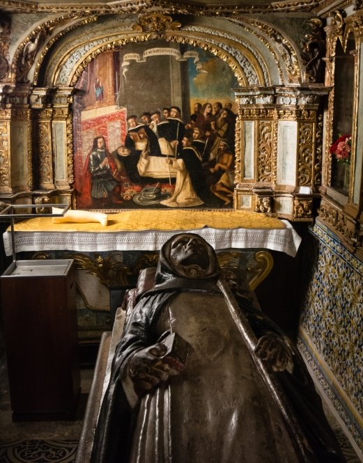 Crypt of St. Goncalo at the Church of St. Goncalo, Amarante, Minho region, Portugal