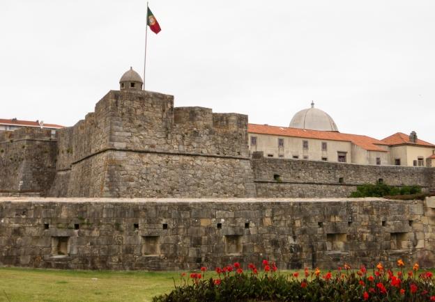 Forte de São João Batista da Foz (Fort of St. John the Baptist), Porto, Portugal