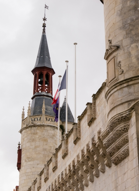 Mairie de La Rochelle (Town Hall) in Vieille Ville (Old Town) in La Rochelle, France
