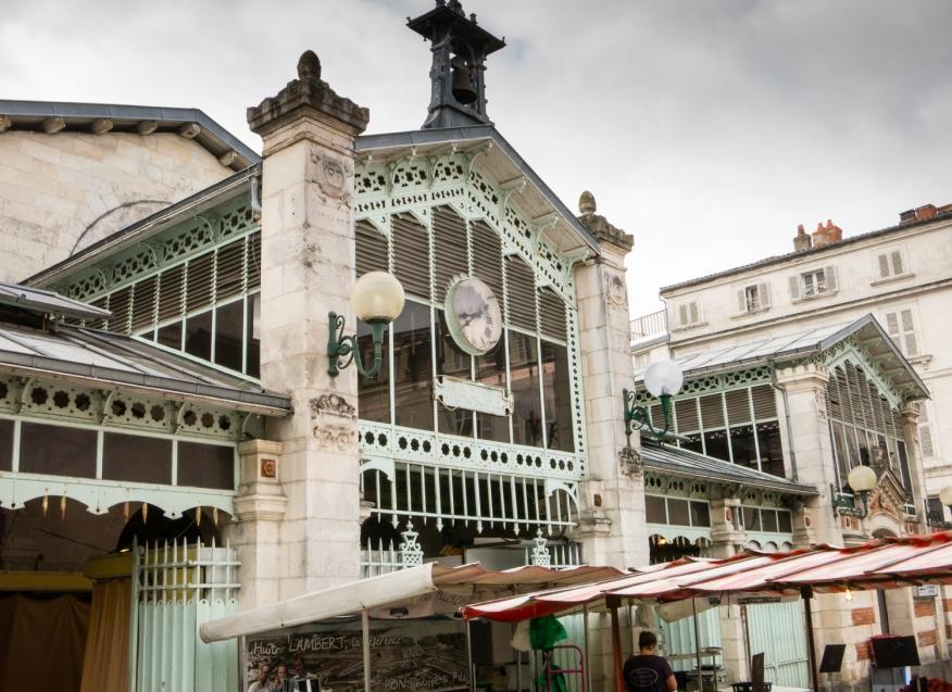Marché Aux Halles (Central Market), 1835, La Rochelle, France