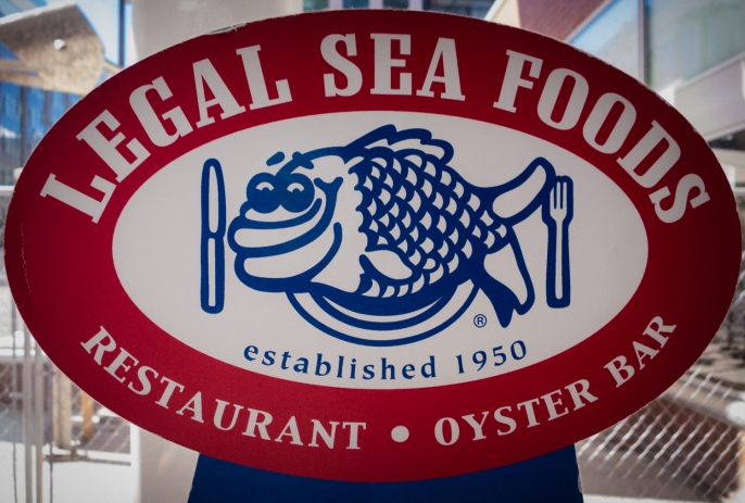 Legal Sea Foods Restaurant (logo), Kendall Square, Cambridge, MA, USA