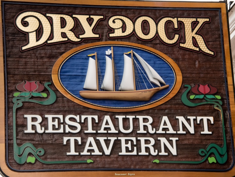 Dry Dock Restaurant-Tavern, Portland, Maine, USA