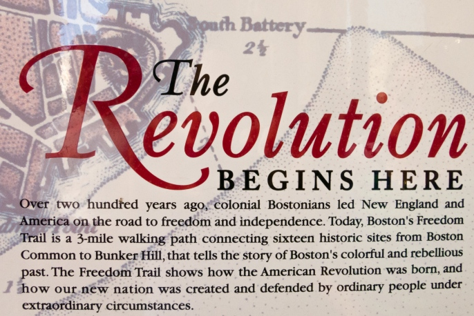 Introduction to The Freedom Trail, Boston, Massachusetts, USA