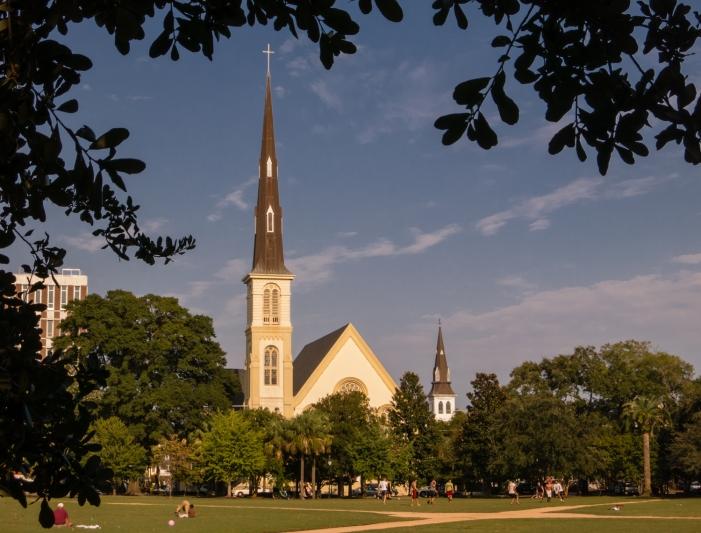 Marion Square, Charleston, South Carolina, USA