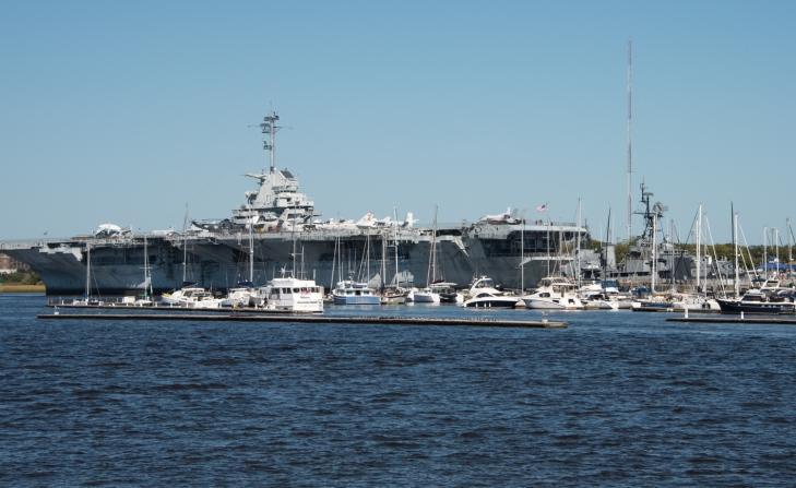 Patriots Point Naval & Maritime Museum on Charleston Harbor, Charleston, South Carolina, USA