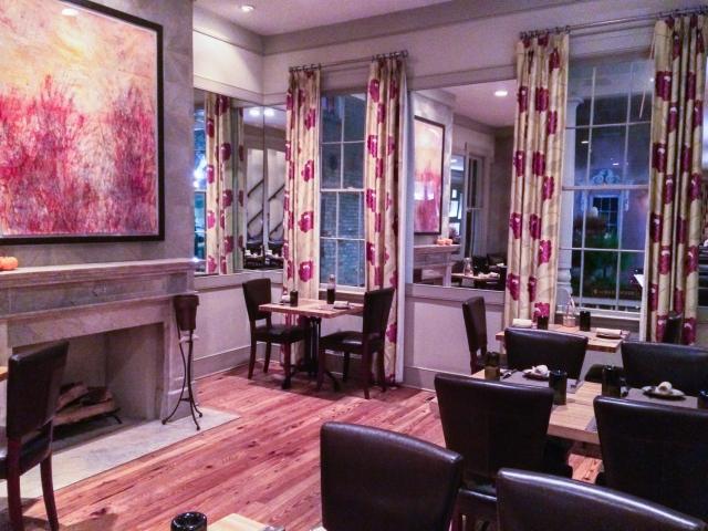 The main dining room at Husk (restaurant), Charleston, South Carolina, USA