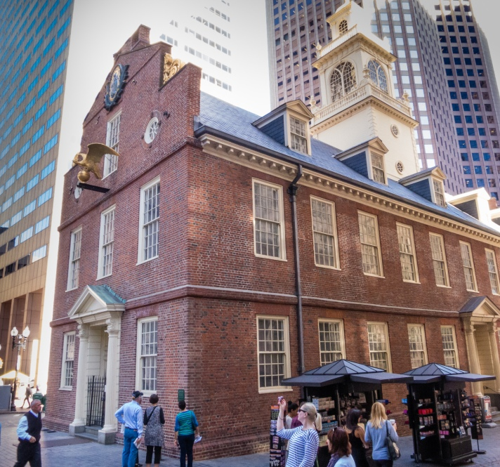 The Old State House (1713), Boston, Massachusetts, USA