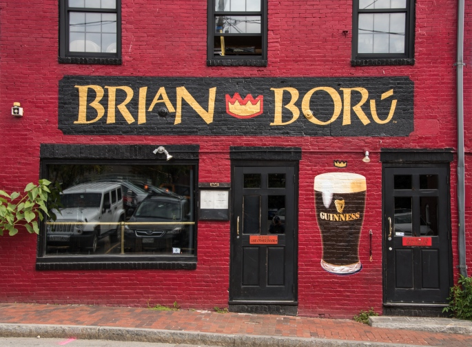 The quintessential Irish neighborhood bar Brian Boru, Portland, Maine, USA